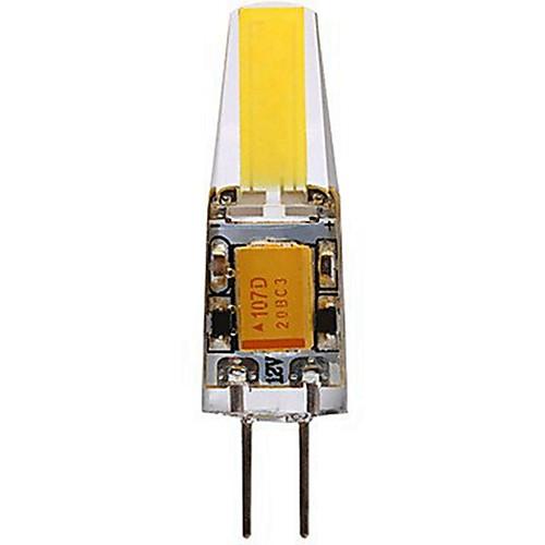 SENCART 1шт 4W 400-450lm G4 Двухштырьковые LED лампы T 1 Светодиодные бусины COB Декоративная Тёплый белый Холодный белый 12V