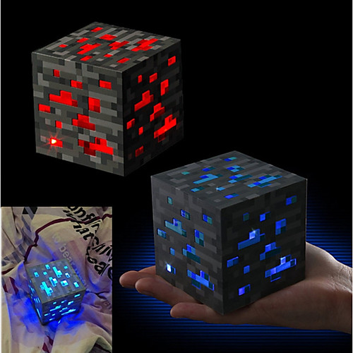 Minecraft Night light LED Figure Toys Аниме и манга Романтика Высококачественный пластик ABS Подарок 1pcs 160mm japanese original anime figure dragon ball buruma action figure collectible model toys for boys