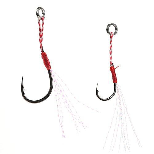 5pcs Лопатка с небольшим отгибом Морское рыболовство Ловля на приманку Спиннинг Ловля на крючок Пресноводная рыбалка Обычная рыбалка