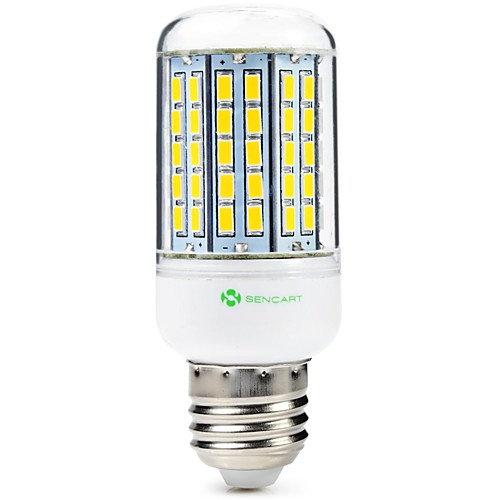 SENCART 1шт 8W 1500lm E14 / GU10 / B22 LED лампы типа Корн T 96 Светодиодные бусины SMD 5630 Декоративная Тёплый белый / Холодный белый цена