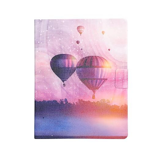 Кейс для Назначение Apple iPad mini 4 / iPad Mini 3/2/1 Бумажник для карт / Защита от удара / со стендом Чехол Воздушные шары Твердый Кожа PU для iPad Mini 3/2/1 / iPad Mini 4