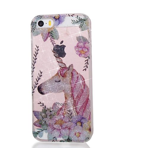 чехол для Apple ipod touch5 / 6 чехол для случая с высоким проникающим порошком imd unicorn soft tpu phone case стоимость