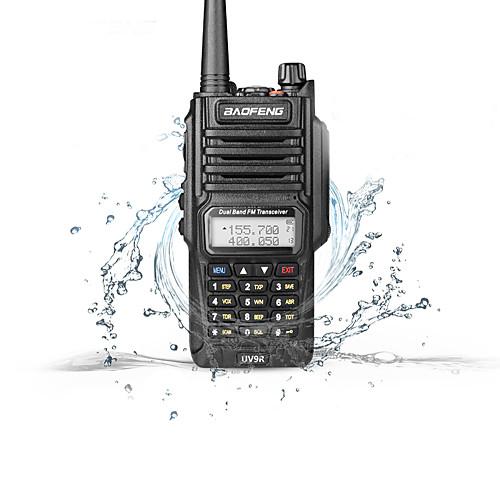 BAOFENG UV-9R Радиотелефон Для ношения в руке Двойной диапазон Водонепроницаемость Walkie Talkie Двухстороннее радио