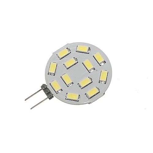 SENCART 1шт 5W 360lm G4 Двухштырьковые LED лампы T 12 Светодиодные бусины SMD 5730 Декоративная Тёплый белый Холодный белый 12-24V