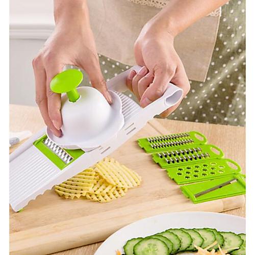 Кухонные принадлежности Пластик Многофункциональный Cutter & Slicer Для фруктов / Для овощного 1шт