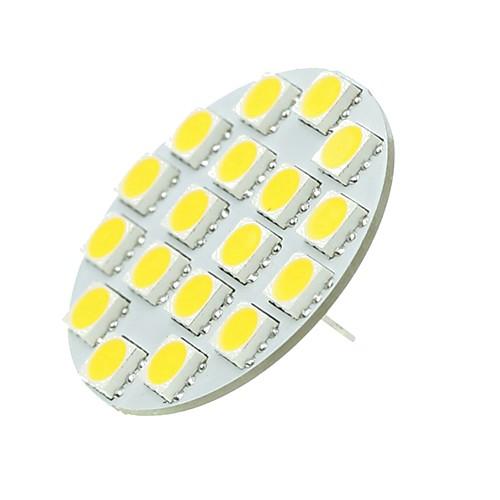 SENCART 1шт 5W 540lm G4 Двухштырьковые LED лампы T 18 Светодиодные бусины SMD 5730 Декоративная Тёплый белый Холодный белый 12-24V