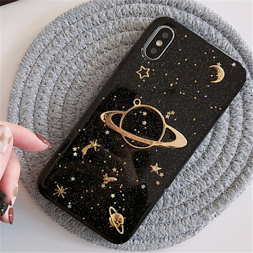 Case For Apple iPhone XR XS XS Max Pattern Back Cover Glitter Shine Soft TPU for iPhone X 8 8 Plus 7 7plus 6s 6s Plus SE 5 5S