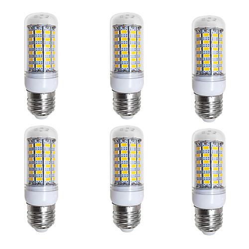 BRELONG 6шт 4W 400lm E26 / E27 LED лампы типа Корн 69 Светодиодные бусины SMD 5730 Тёплый белый Белый 200-240V цена