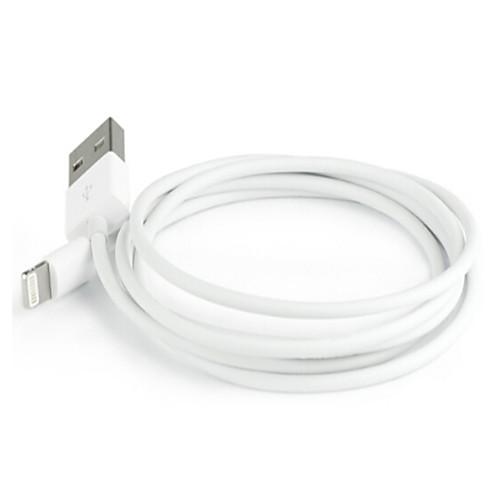 Подсветка Адаптер USB-кабеля Быстрая зарядка Высокая скорость Кабель Назначение iPhone 100 cm ПВХ