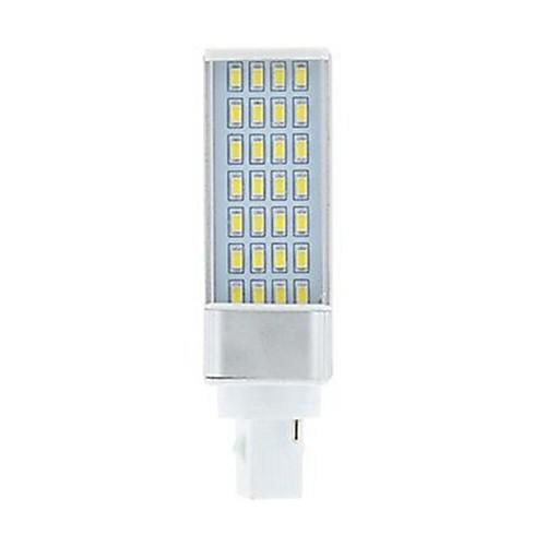 SENCART 1шт 9W 750-850lm G24 Двухштырьковые LED лампы 28 Светодиодные бусины SMD 5630 Декоративная Тёплый белый Белый 85-265V