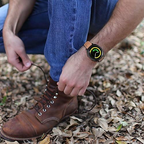 Ремешок для часов для Gear Sport / Gear S2 Classic Samsung Galaxy Классическая застежка Кожа Повязка на запястье фото
