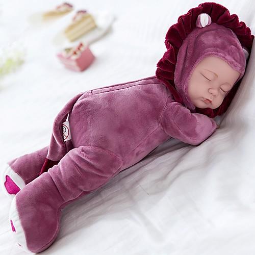 Плюшевая кукла Дети 14 дюймовый Силикон / Винил - Играть Колыбельная Детские Девочки Подарок