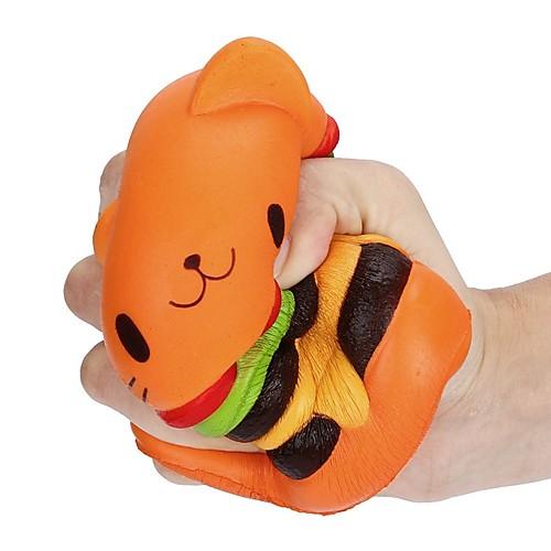 LT.Squishies Резиновые игрушки Кошка / Гамбургер Товары для офиса / Стресс и тревога помощи / Декомпрессионные игрушки 1pcs Классика