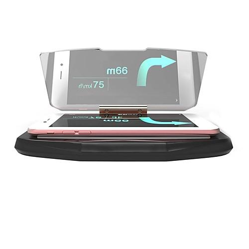 Ziqiao универсальный мобильный GPS навигационный кронштейн hud head up дисплей для смартфона держатель телефона держатель телефона фото