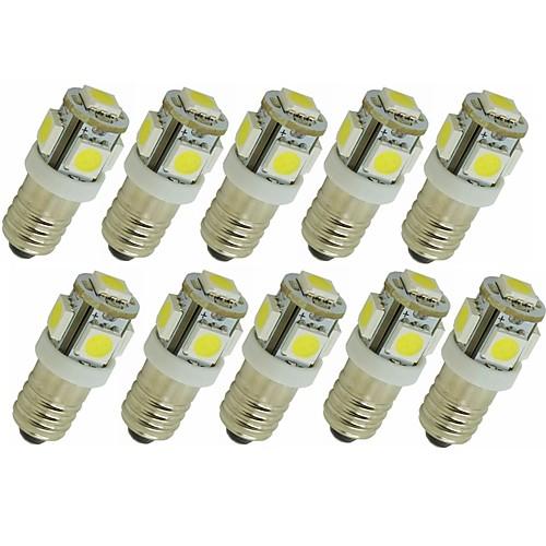 SENCART 10 шт. 1.5W 90lm G4 E11 Двухштырьковые LED лампы T 5 Светодиодные бусины SMD 5050 Декоративная Тёплый белый Белый Зеленый Желтый