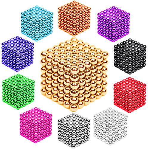Магнитные игрушки Неодимовый магнит / Магнитные шарики 216pcs 3mm Металлические / Магнит Магнитный Универсальные Взрослые Подарок