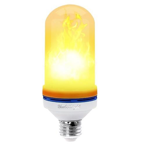 YouOKLight 1шт 4W 400lm E26 / E27 LED лампы типа Корн 99 Светодиодные бусины SMD 2835 Декоративная Тёплый белый 85-265V цена