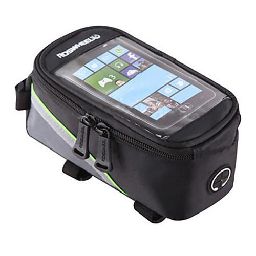 ROSWHEEL Сотовый телефон сумка / Бардачок на раму 4.2/5.5/6.2 дюймовый Водонепроницаемость, Отражение, Сенсорный экран Велоспорт для