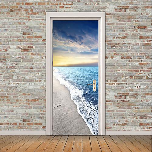 Натюрморт Море Наклейки Простые наклейки 3D наклейки Декоративные наклейки на стены Фото наклейки Напольные наклейки Дверные наклейки, детские наклейки spiegelburg наклейки prinzessin lilifee 11990