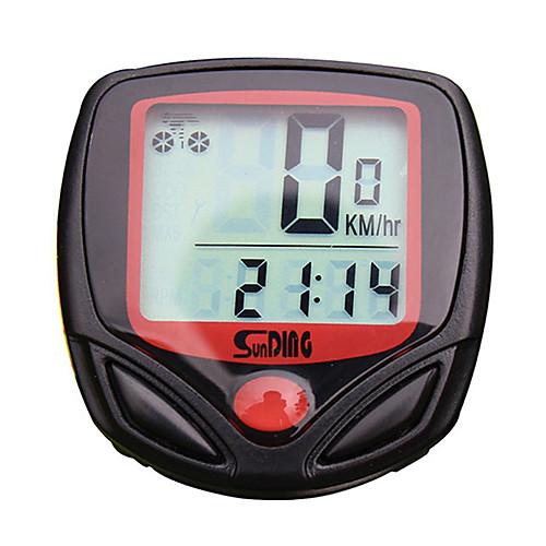 SD-548A Велокомпьютер Секундомер Водонепроницаемость подсветка LCD Спидометр Время в пути Проводной Многофункциональный Память сигнализатор поклевки hoxwell hl39