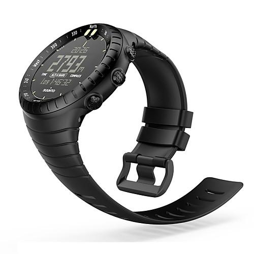 Ремешок для часов для SUUNTO CORE Suunto Спортивный ремешок силиконовый Повязка на запястье ремешок для suunto core leather коричневый