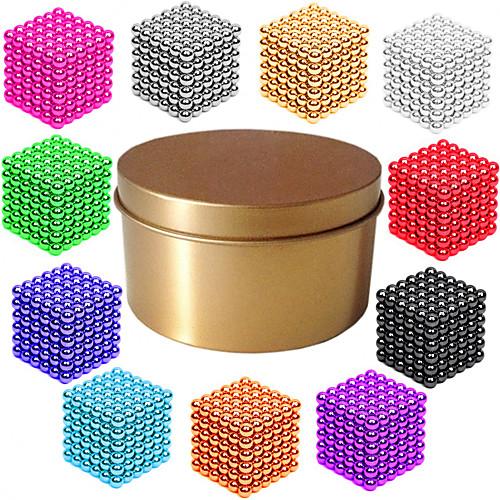 2161 2162 2163 pcs Магнитные игрушки Магнитные шарики / Конструкторы / Головоломка Куб Магнитный Магнитный тип / профессиональный уровень / 3mm Взрослые Подарок