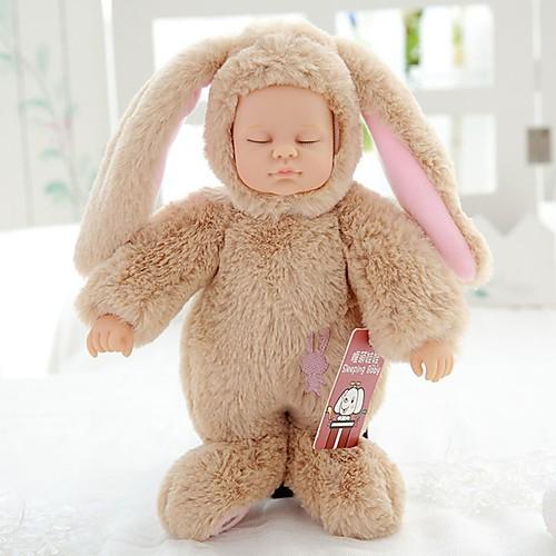 Куклы реборн Девочки 10 дюймовый Полный силикон для тела / Силикон Детские Универсальные Подарок