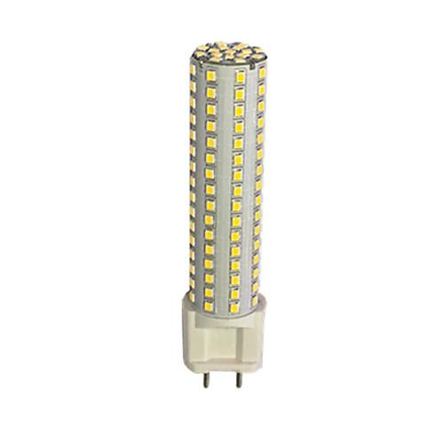 1шт 13W 980lm G12 LED лампы типа Корн T 144 Светодиодные бусины SMD 2835 Тёплый белый Белый 85-265V