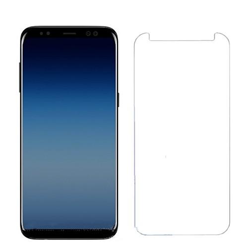 Защитная плёнка для экрана для Samsung Galaxy A8 2018 Закаленное стекло 1 ед. Защитная пленка для экрана HD / Уровень защиты 9H / 2.5D закругленные углы фото
