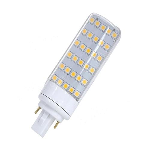 SENCART 1шт 5.5W 580-650lm G24 Двухштырьковые LED лампы T 30 Светодиодные бусины SMD 5050 Декоративная Тёплый белый Белый 12V 85-265V