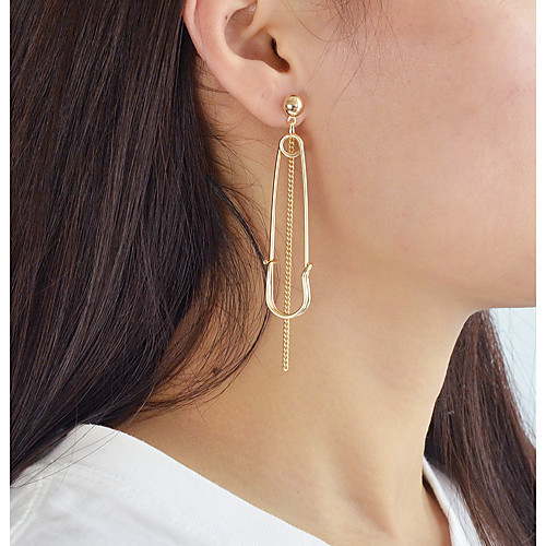 Drop Earrings Mismatched Ladies Earrings Jewelry Gold / Silver For Daily Date