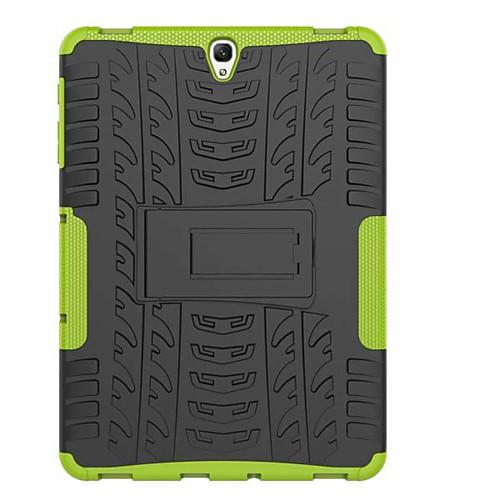 Кейс для Назначение SSamsung Galaxy Tab A 8.0 (2017) Tab A 10.1 (2016) Защита от удара со стендом броня Кейс на заднюю панель Плитка броня