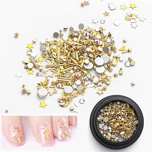 1pcs Пайетки металлический Модный дизайн Креатив На каждый день Дизайн ногтей санни модный дизайн альбом для творчества