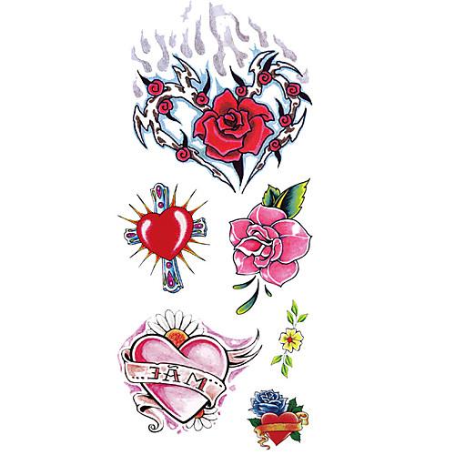 1pcs Waterproof Тату с цветами Тату с тотемом Временные тату Наклейки тату рукава в владимире