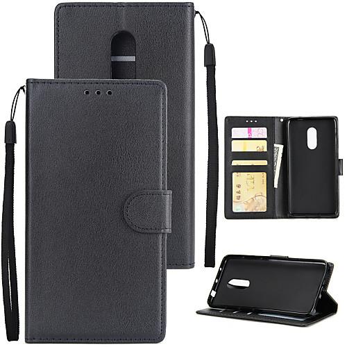 Купить со скидкой Кейс для Назначение Xiaomi Redmi 5A / Redmi 5 Plus Кошелек / Бумажник для карт / Защита от удара Чех