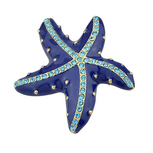 Жен. Броши - Классический / Мода морская звезда Синий Брошь Назначение Повседневные / Свидание