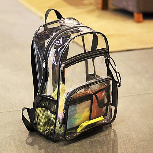 10 L Рюкзаки - Дожденепроницаемый На открытом воздухе Пешеходный туризм, Путешествия, Для школы Прозрачный