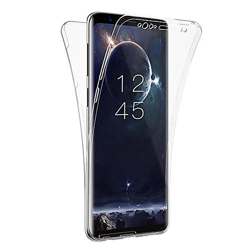 Кейс для Назначение SSamsung Galaxy S9 S9 Plus Прозрачный Чехол Однотонный Мягкий ТПУ для S9 Plus S9 S8 Plus S8 S7 edge S7 S6 edge S6 cooling fan replacement d12bm 12d 4 pin connector pwm 12038 12v 2 3a 6000rpm for antminer bitmain s7 s9 useful