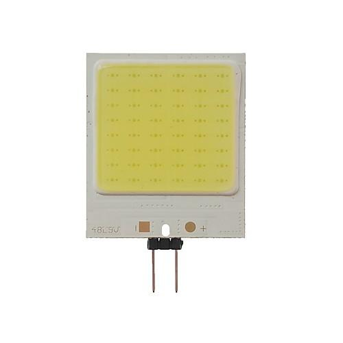 SENCART 1шт 10W 300lm G4 Двухштырьковые LED лампы T 48 Светодиодные бусины COB Декоративная Холодный белый 12V