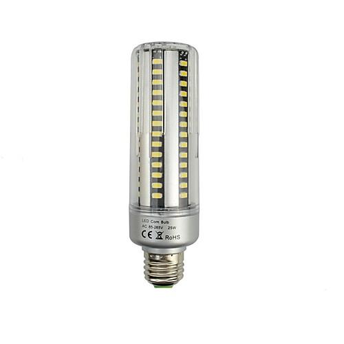 1шт 25W 3000lm E26 / E27 LED лампы типа Корн T 96 Светодиодные бусины SMD 5736 Декоративная Тёплый белый / Холодный белый 85-265V / RoHs цена