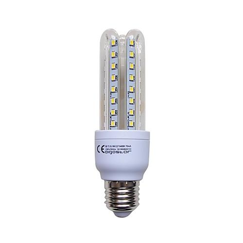 1шт 9W 720lm E26 / E27 LED лампы типа Корн T 48 Светодиодные бусины SMD 2835 Холодный белый 220-240V