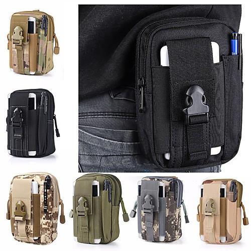 1.5L Поясные сумки - Легкие, Пригодно для носки Походы, Армия Ткань Оксфорд Военно-зеленный, Камуфляжный, Хаки