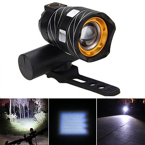 Передняя фара для велосипеда / Фары для велосипеда Светодиодная лампа LED Велоспорт Водонепроницаемый, Портативные Перезаряжаемая батарея 500 lm Белый Велосипедный спорт