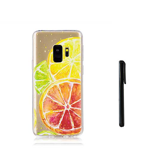Кейс для Назначение SSamsung Galaxy S9 S9 Plus Полупрозрачный Кейс на заднюю панель Фрукты Мягкий ТПУ для S9 Plus S9 S8 Plus S8 S7 edge S7