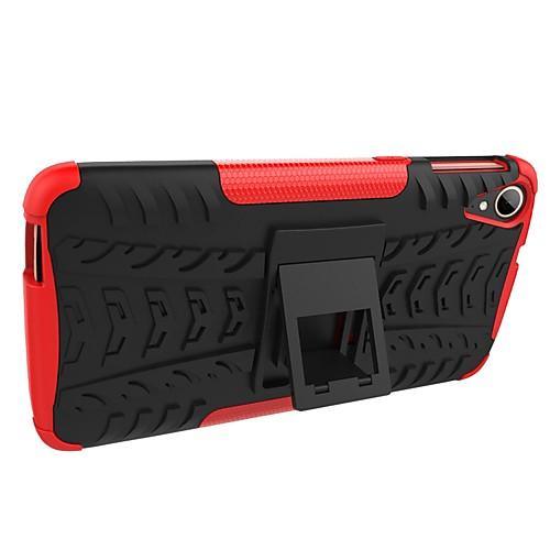 Кейс для Назначение HTC Desire 630 Desire 628 Защита от удара со стендом броня Кейс на заднюю панель Плитка броня Твердый ПК для HTC смартфоны htc смартфон desire 630 ds eea