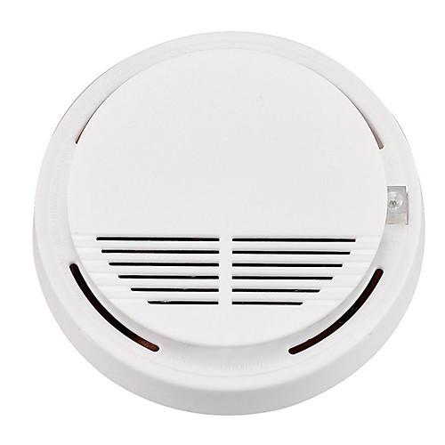 Smart Home Security Sensor Smoke & Gas Detectors Platform Smoke Detector for Indoor Light & Sound Alarm SS-168