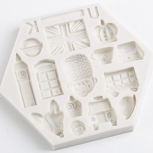 1шт Новинки Необычные гаджеты для кухни конфеты Для приготовления пищи Посуда Шоколад Торты Силикон Своими руками День рождения Креатив