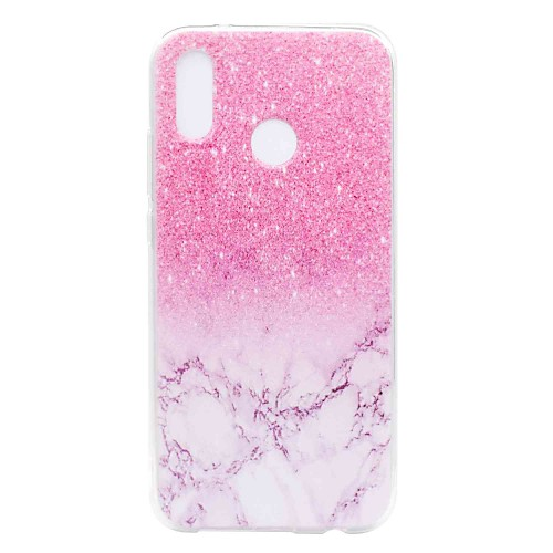 Case For Huawei P20 lite / P8 Lite (2017) Transparent / Pattern Back Cover Marble Soft TPU for Huawei P20 / Huawei P20 Pro / Huawei P20 lite / P10 Plus / P10 Lite / P10