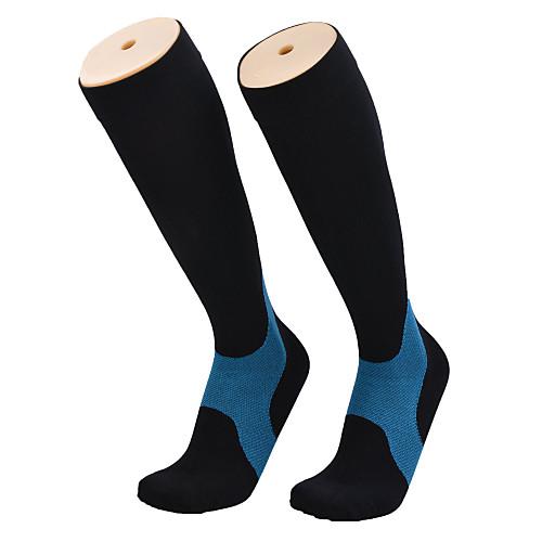 Носки для бега Чулки Муж. Воздухопроницаемость - 1 пара для Пешеходный туризм Велосипедный спорт / Велоспорт Бег mizuno носки для бега