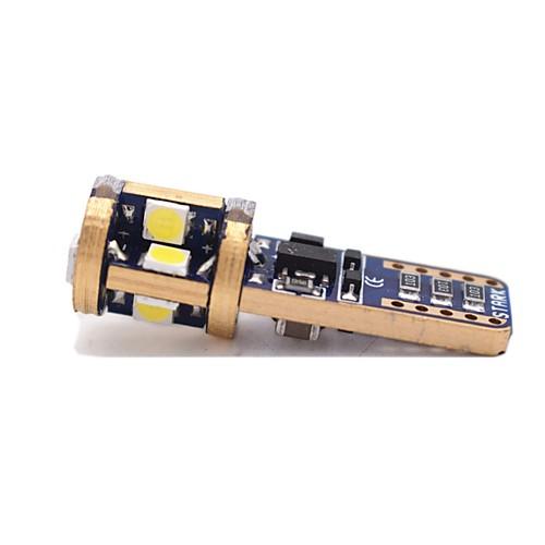 1 шт. T10 Автомобиль Лампы 6W SMD 3020 480lm 12 Светодиодная лампа Внешние осветительные приборы For Универсальный Все модели Все года цена